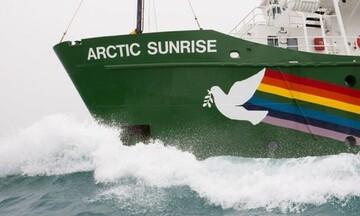Greenpeace: Έρευνα πεδίου στην Ελληνική Τάφρο από το πλοίο Arctic Sunrise
