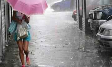 Έντονα καιρικά φαινόμενα την Πέμπτη - Που θα σημειωθούν βροχές, καταιγίδες και χαλαζοπτώσεις