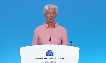 Λαγκάρντ: Ο ρυθμός αγοράς ομολόγων μειώνεται λόγω ανάκαμψης της Ευρωζώνης - Τι είπε για την Ελλάδα