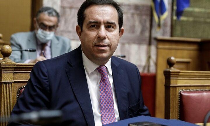 """Ν. Μηταράκης: """"Κανείς μετανάστης δεν θα μείνει στην ακριτική Ελλάδα"""""""