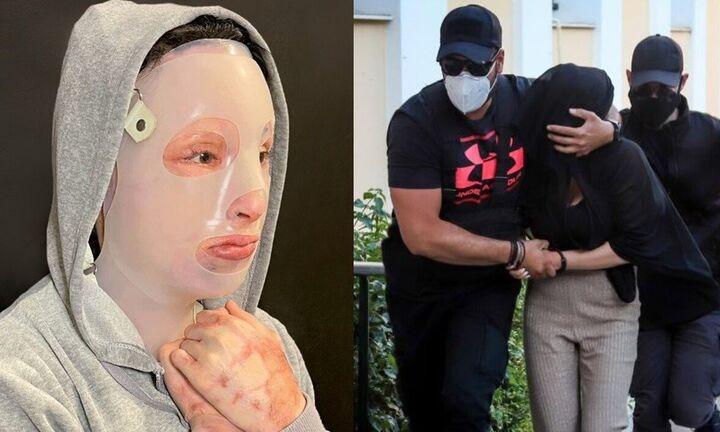 Επίθεση με βιτριόλι: Χυδαίες εκφράσεις της μητέρας της κατηγορούμενης σε δημοσιογράφους (vid)