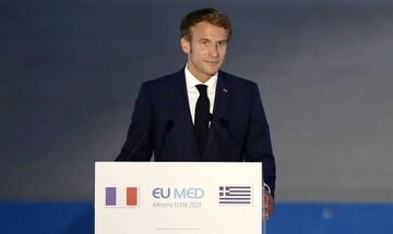 Μακρόν: Η ΕΕ πρέπει να αντιμετωπίζει τις προκλήσεις και απειλές στη γειτονιά μας