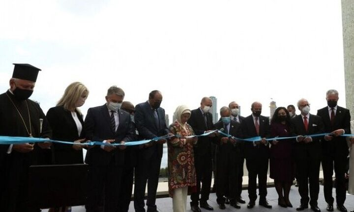 Αντιδράσεις και ερωτηματικά για τον Ελπιδοφόρο - «Ευλόγησε» το «τουρκικό σπίτι» του Ερντογάν
