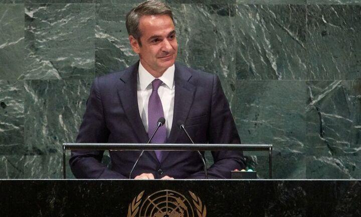 Τετ α τετ Κυριάκου Μητσοτάκη με τον επικεφαλής του ΟΗΕ σήμερα