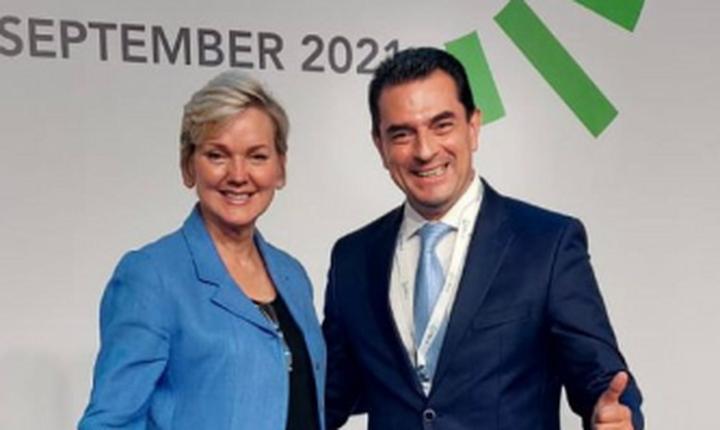 Συνάντηση Κ. Σκρέκα, με την Υπουργό Ενέργειας των ΗΠΑ, J. Granholm