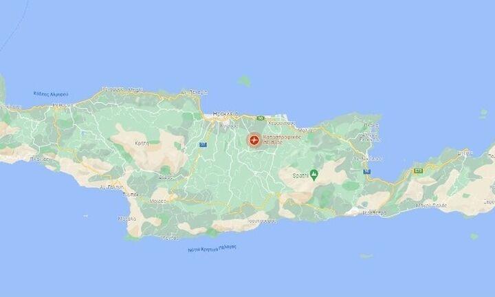Ισχυρός σεισμός 5,8 Ρίχτερ στο Ηράκλειο Κρήτης- Eνας νεκρός - αναφορές για εγκλωβισμένους