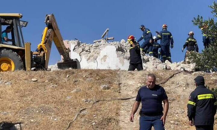 Σεισμός στην Κρήτη: Αυτός είναι ο 65χρονος που έχασε τη ζωή του - Τραυματίας ο γιος του (pic)