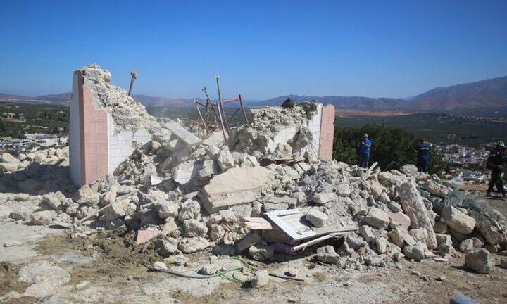 Σεισμός στην Κρήτη: Στήνουν σκηνές για 2.500 σεισμόπληκτους -Σε κατάσταση έκτακτης ανάγκης η περιοχή