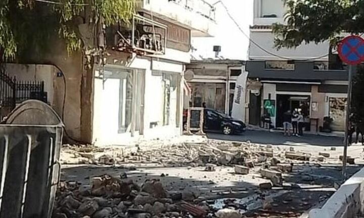 Σεισμός στην Κρήτη - Μήνυμα από το 112 στους κατοίκους: Μην μπαίνετε σε κτίρια που χτύπησε ο σεισμός