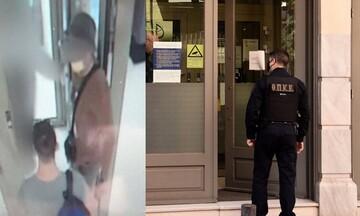 Συνελήφθη ο δράστης της ληστείας σε τράπεζα στη Μητροπόλεως - Δραπέτης με βαρύ ποινικό μητρώο