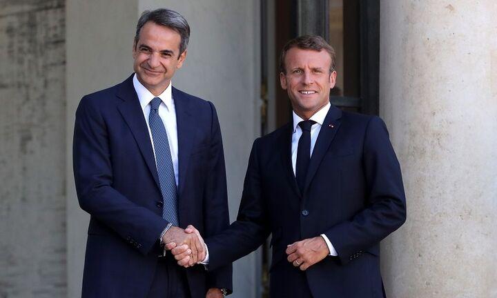 Κυρ. Μητσοτάκης: Προς μια ουσιαστική εμβάθυνση της στρατηγικής συνεργασίας Ελλάδος-Γαλλίας