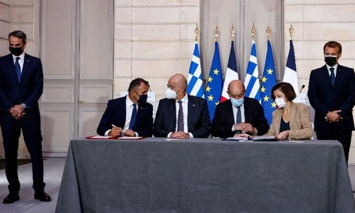 Κυβερνητικές πηγές: Τι σημαίνει η συμφωνία Ελλάδας - Γαλλίας