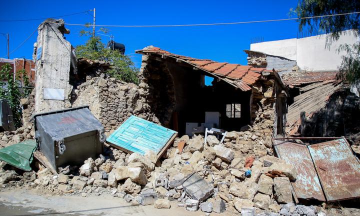 Στην Κρήτη ο Κυρ. Μητσοτάκης - Επισκέπτεται τις περιοχές που επλήγησαν από το σεισμό
