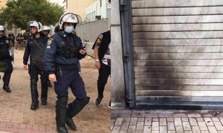 Έξι συλλήψεις και 40 προσαγωγές για τα πρωινά επεισόδια στα ΕΠΑΛ Σταυρούπολης (vid)