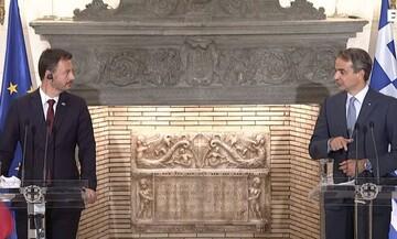 Απίθανο περιστατικό στο Μέγαρο Μαξίμου: Ο Πίνατ διέκοψε τις κοινές δηλώσεις (vid)
