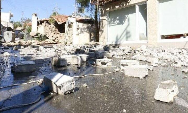 Εδαφική παραμόρφωση 14 εκ. από το σεισμό της Κρήτης