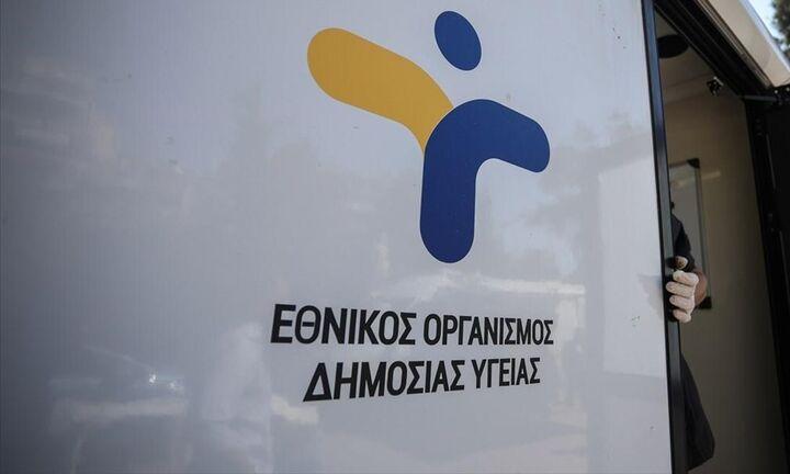ΕΟΔΥ: Που θα γίνονται δωρεάν τεστ για Covid-19 το Σάββατο 2 Οκτωβρίου