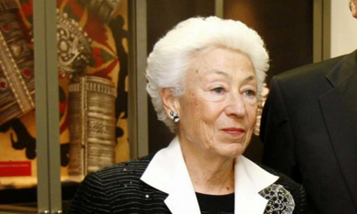 Έφυγε από τη ζωή η πρόεδρος του Ιδρύματος Μείζονος Ελληνισμού, Ουρανία Εφραίμογλου