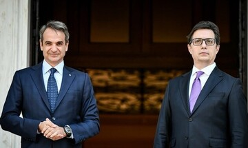 Ο Κυρ. Μητσοτάκης ζήτησε από τον Πενταρόφσκι την πλήρη εφαρμογή της Συμφωνίας των Πρεσπών