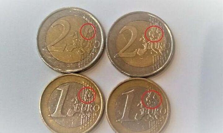 Προσοχή: Γέμισε η αγορά με κάλπικα νομίσματα των 2 ευρώ - Πως θα τα ξεχωρίσετε