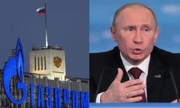 Πολιτικά παιχνίδια της Μόσχας- Πούτιν: Η Κομισιόν υπεύθυνη για την αύξηση των τιμών στο φυσικό αέριο