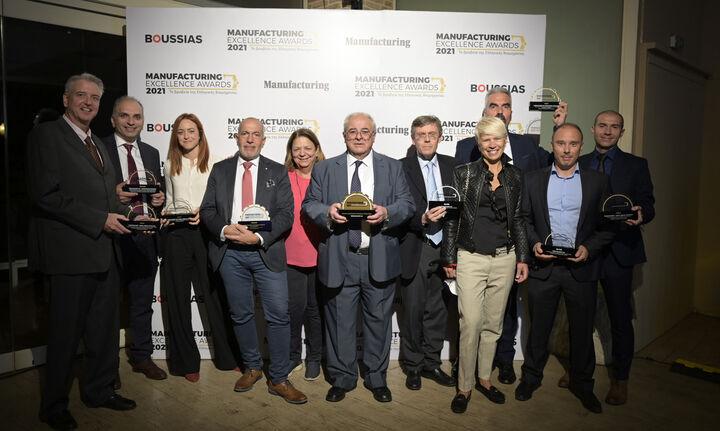 ElvalHalcor: Eννέα βραβείαστα Manufacturing Excellence Awards 2021