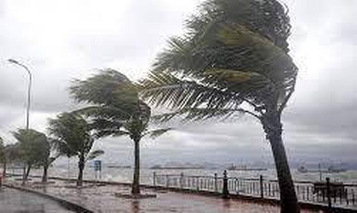 Η Αθηνά έφτασε: Ισχυρή βροχόπτωση στην Κέρκυρα-Δυνατοί άνεμοι τους Παξούς