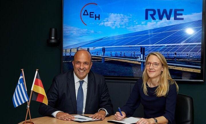 Κοινοπραξία ΔΕΗ και RWE για την υλοποίηση έργων ΑΠΕ