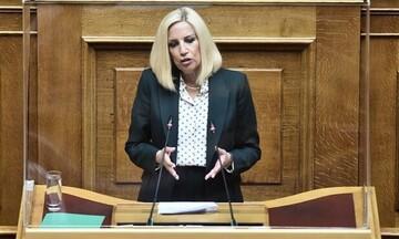 Φ. Γεννηματά: Ψηφίζουμε τη συμφωνία Ελλάδας- Γαλλίας γιατί θέτει τις βάσεις για την ασφάλεια