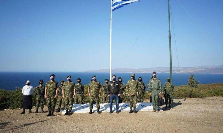 Κρεσέντο ανθελληνικής προπαγάνδας από τουρκικά ΜΜΕ για την φωτογραφική πόζα του Νίκου Χαρδαλιά