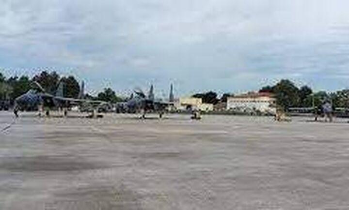Μεταστάθμευση αμερικανικών F-15 στην 110 Πτέρυγα Μάχης στη Λάρισα