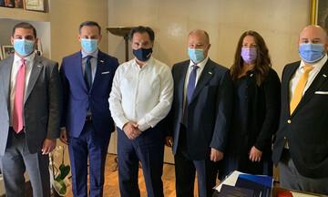 Συνάντηση Γεωργιάδη - ΣΕΜΑ για την ασφαλιστική αγορά