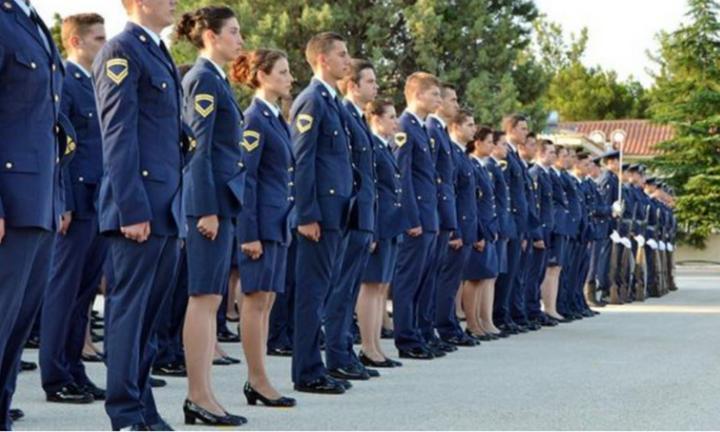 Κατάταξη εισακτέων 2021 στη Σχολή Μονίμων Υπαξιωματικών Αεροπορίας