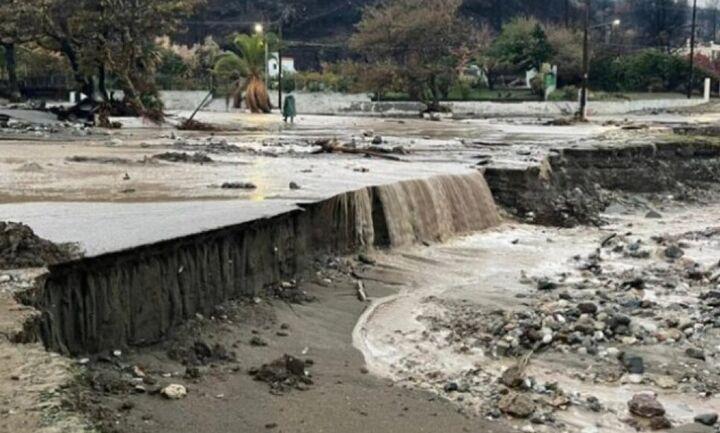 Εκτακτη επιχορήγηση μετά τις πλημμύρες στην Εύβοια