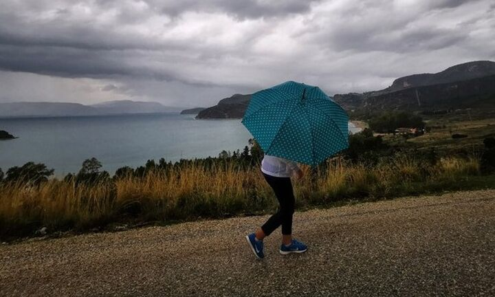 Συνεχίζονται οι βροχές, βελτίωση από αύριο, νέα ισχυρή κακοκαιρία από την Πέμπτη