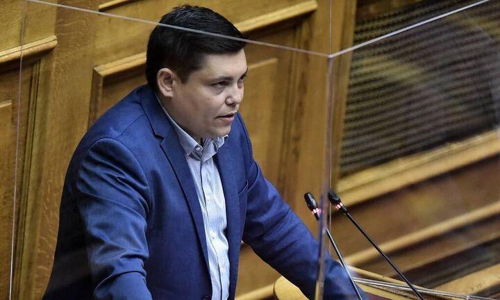 Θετικός στον κορωνοϊό ο βουλευτής του ΣΥΡΙΖΑ Γιάννης Μπουρνούς