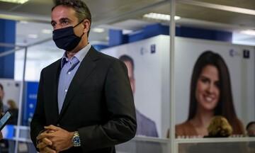 Κυρ. Μητσοτάκης: Έκανε την τρίτη δόση του εμβολίου κατά του κορωνοϊού