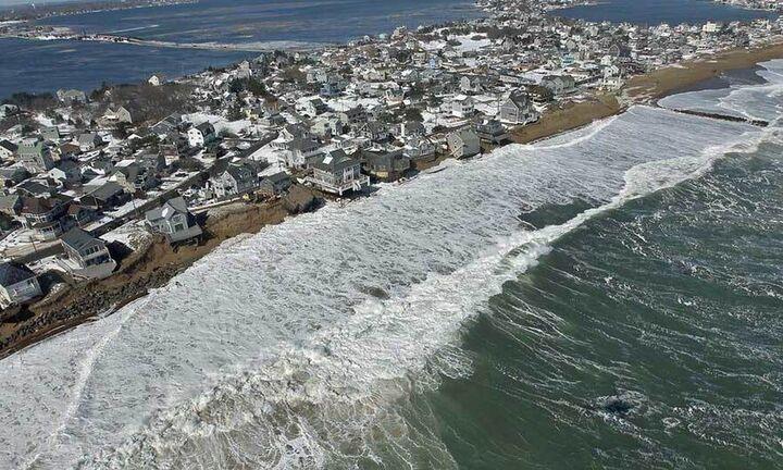 Έρευνα: Η αύξηση του επιπέδου της θάλασσας θα συνεχιστεί επί αιώνες