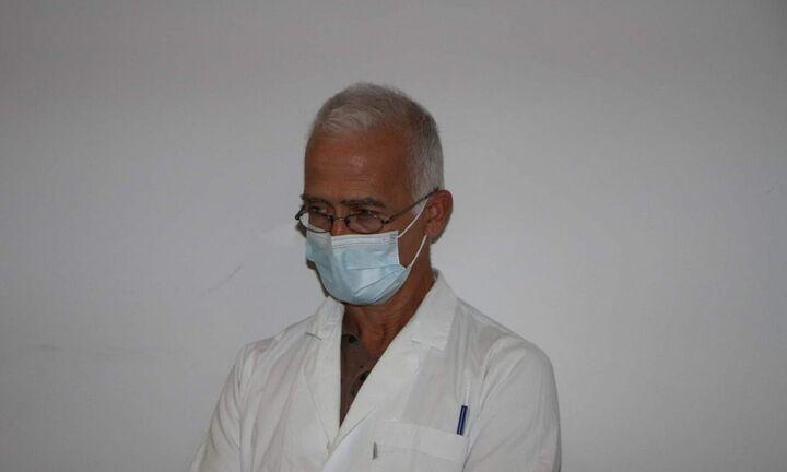 Νεκρός ο διευθυντής της κλινικής Covid-19 του Νοσοκομείου Καλαμάτας
