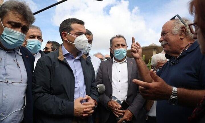Αλ. Τσίπρας από Αρκαλοχώρι: Θα δώσουμε μάχη για να μην ερημώσει η περιοχή