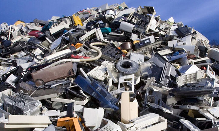 57,4 εκατ. τόνοι τα παγκόσμια ηλεκτρονικά απόβλητα το 2021