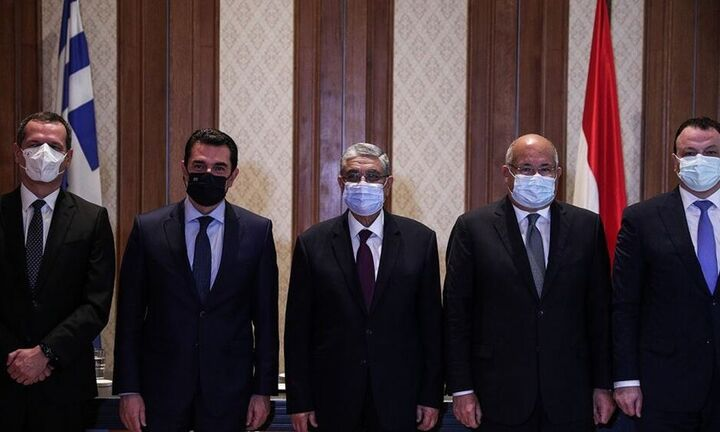 Υπεγράφη η «συμφωνία-ορόσημο» για την ηλεκτρική διασύνδεση Ελλάδας-Αιγύπτου