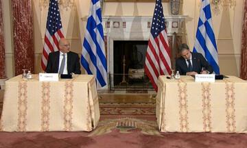 Υπεγράφη η αμυντική συμφωνία Ελλάδας-ΗΠΑ - Δένδιας σε Μπλίνκεν: Η Ελλάδα αντιμετωπίζει casus belli