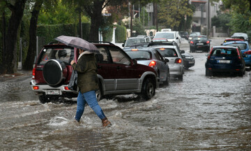 Τοπικές βροχές και καταιγίδες και σήμερα