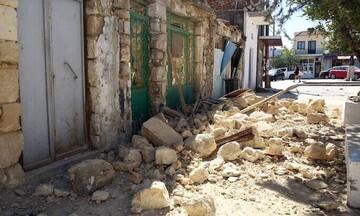 Καταβολή αποζημιώσεων 3 εκατ. ευρώ στις σεισμόπληκτες περιοχές της Κρήτης