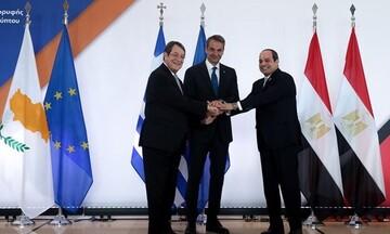 Τι αναφέρει η Κοινή Διακήρυξη Ελλάδας, Κύπρου και Αιγύπτου - Μηνύματα στην Τουρκία