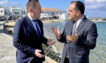 Στ. Πέτσας: Εγκρίθηκε η χρηματοδότηση του έργου ύδρευσης και αποχέτευσης στη Μύκονο