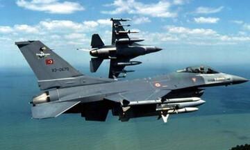 Νέες προκλήσεις: Υπερπτήσεις τουρκικών F-16 πάνω από Φαρμακονήσι, Λειψούς και Οινούσες