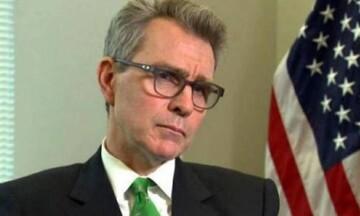 ΝΔ: Θα διαψεύσει ο ΣΥΡΙΖΑ αυτά που αναφέρει στη συνέντευξή του ο πρέσβης των ΗΠΑ;