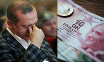 Σε χαμηλό επίπεδο - ρεκόρ η τουρκική λίρα... Τρέπονται σε φυγή οι ξένοι επενδυτές